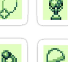 GameBoy RPG Item Sticker Set 1 Sticker