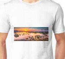 Rockpool sunrise panorama Unisex T-Shirt