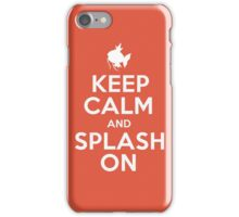 Pokemon - Keep Calm and Splash On - Magikarp Design iPhone Case/Skin