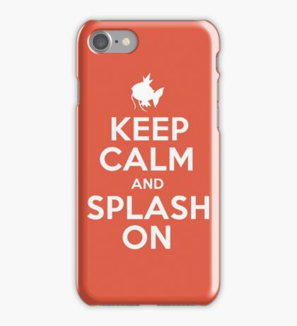 Pokemon - Keep Calm and Splash On - Magikarp Design iPhone Case/Skin