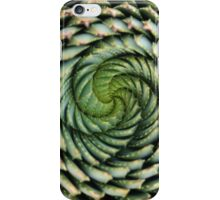 spiral aloe - lesotho's endangered species iPhone Case/Skin