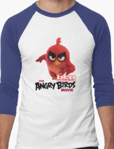 Angry Bird Red Men's Baseball ¾ T-Shirt