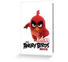 Angry Bird Red Greeting Card