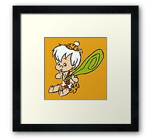 The Flintstones Bamm-Bamm Rubble Framed Print