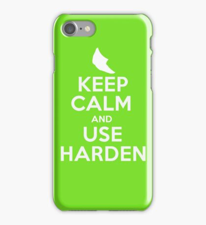 Pokemon - Keep Calm and Use Harden - Metapod Design iPhone Case/Skin