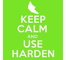 Pokemon - Keep Calm and Use Harden - Metapod Design Photographic Print