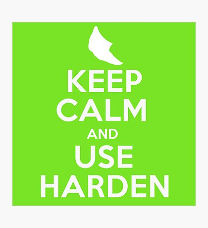 Pokemon - Keep Calm and Use Harden - Metapod Design Photographic Print