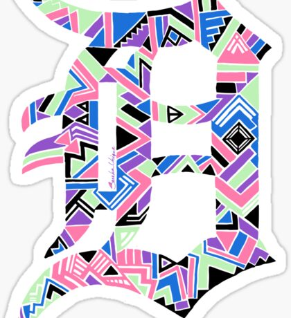 Detroit D Sticker