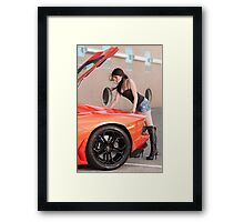 Is 700hp enough? Framed Print