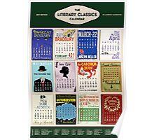Literary Classics - 2017 Calendar Poster