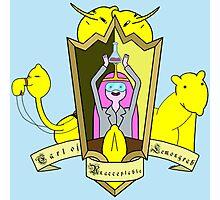 Adventure Time Lemongrabe Photographic Print