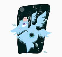 angel with cat for brain +BG Unisex T-Shirt