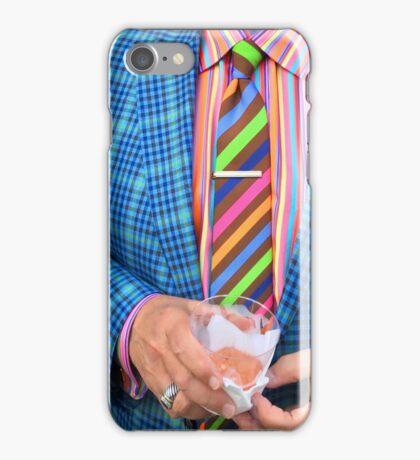 Rainbow Suit Man iPhone Case/Skin