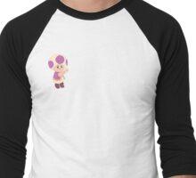 super mario galaxy mail toad Men's Baseball ¾ T-Shirt