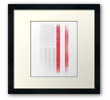 Austrian American Flag Framed Print