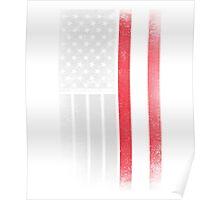 Austrian American Flag Poster