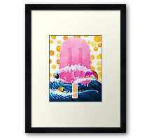 Summer Popsicle Framed Print