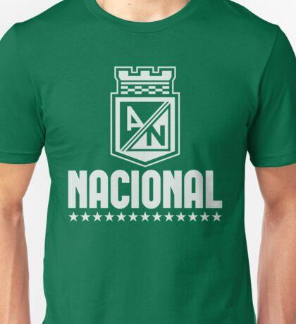 Atletico Nacional Colombia Medellin Futbol Soccer - Camiseta Postobon Unisex T-Shirt