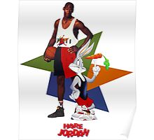 Michael Jordan Cartoon Movie Poster