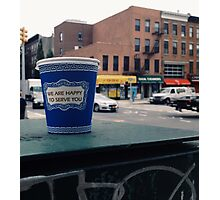 Happy To Serve You NYC Photographic Print