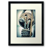 TAKELAGE Framed Print