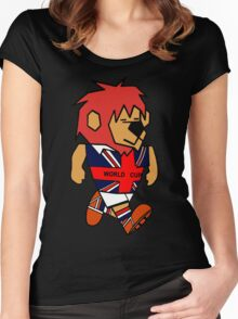 World Cup Willie Women's Fitted Scoop T-Shirt