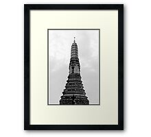 Towering Temple Framed Print