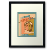 US Senator Hillary Rodham Clinton Framed Print