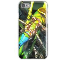 Blue Dragonfly Wings iPhone Case/Skin
