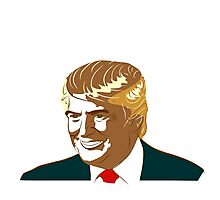 Presidential Candidate Donald Trump Photographic Print