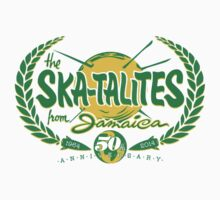 THE SKATALITES FROM JAMAICA : ANV 50th  Kids Tee