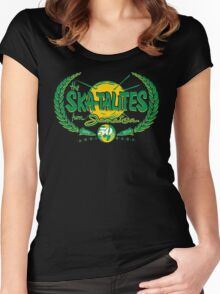 THE SKATALITES FROM JAMAICA : ANV 50th  Women's Fitted Scoop T-Shirt