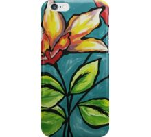 Tropical flower bliss iPhone Case/Skin