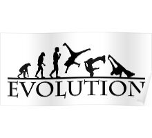 Bboying Evolution Poster