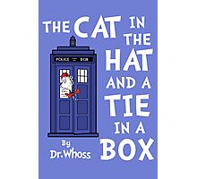 The Cat in the Hat and a Tie in a Box Photographic Print