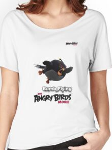 angry bird Bomb Women's Relaxed Fit T-Shirt