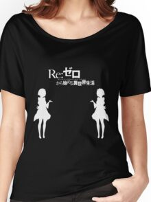 Re: Zero kara Hajimeru Isekai Seikatsu (White Edition) Women's Relaxed Fit T-Shirt