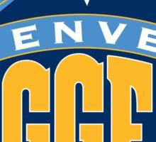 Denver Nuggets Logo Sticker