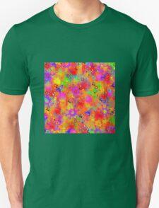 Color Splash Graffiti Unisex T-Shirt