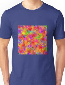 Color Splash Graffiti Unisex T-Shirt