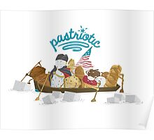 Pastriotic - Washington Crossing the Deleware Poster