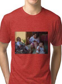 family portrait Tri-blend T-Shirt