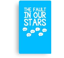 Our Faulty Stars Canvas Print