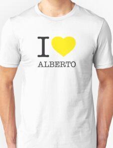 I ♥ ALBERTO Unisex T-Shirt