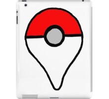 Geo Poke Ball iPad Case/Skin
