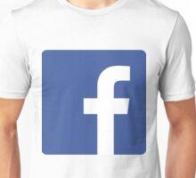 Facebook Icon Unisex T-Shirt