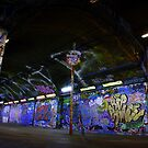 Leake Street Graffiti by Ed Sweetman