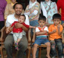 family gathering Sticker