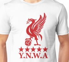 Liverpool FC YNWA - You Will Never Walk Alone Unisex T-Shirt