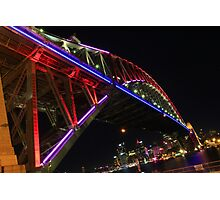 Coloured Span Photographic Print